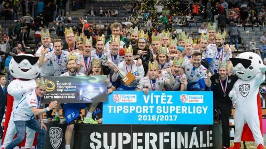 Florbalisté Chodova vyhráli Superfinále.